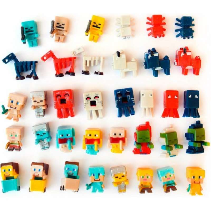Набор 36 фигурок Майнкрафт коллекция N5