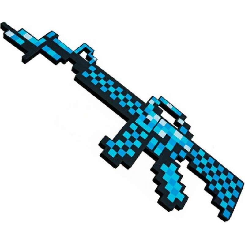 Пиксельный алмазный автомат Майнкрафт