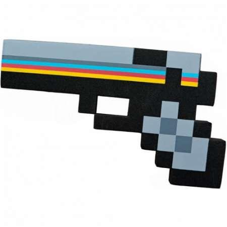 Пиксельный алмазный пистолет Майнкрафт