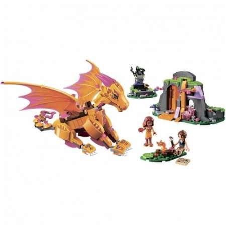 Конструктор Elves Лавовая пещера дракона 446 деталей. Возраст 6+