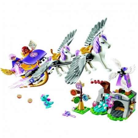 Конструктор Elves Летающие сани Эйры 318 деталей. Возраст 6+