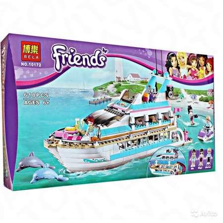 Конструктор Friends Круизный лайнер 618 деталей. Возраст 6+