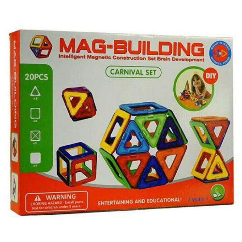 Mag-Building 20 деталей