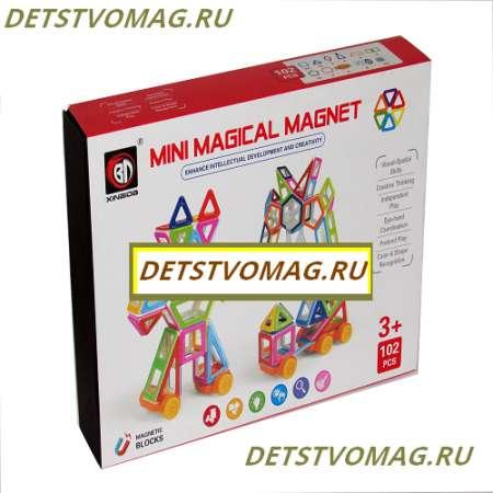 Магнитный конструктор Mini Magical Magnet 102 детали