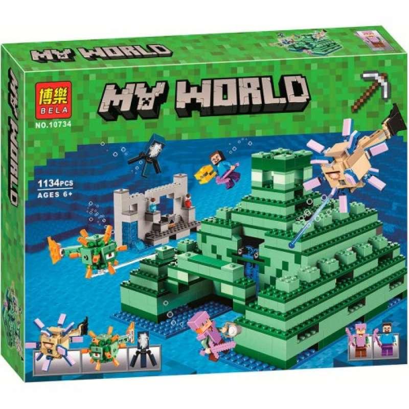 Minecraft Подводная крепость