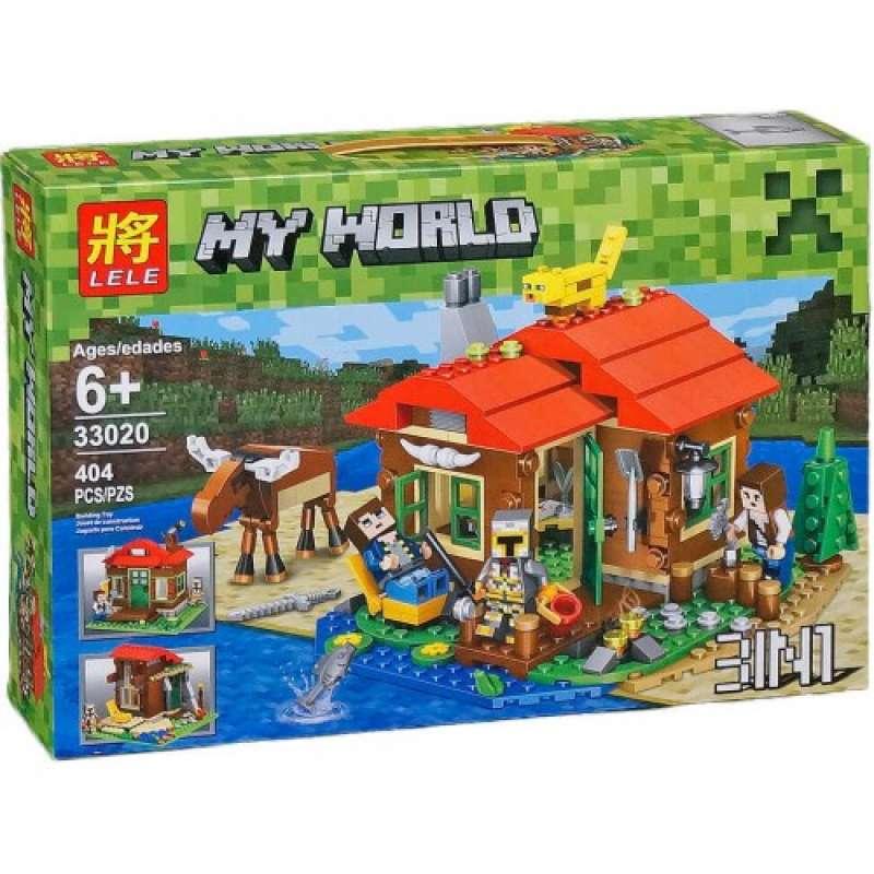 Minecraft Охотничий домик