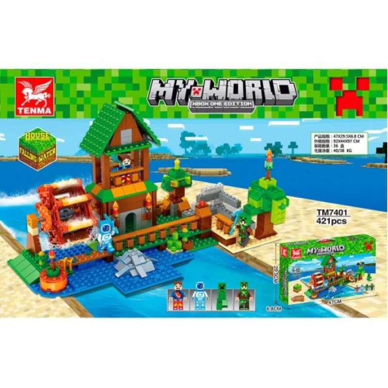 Minecraft водяная мельница