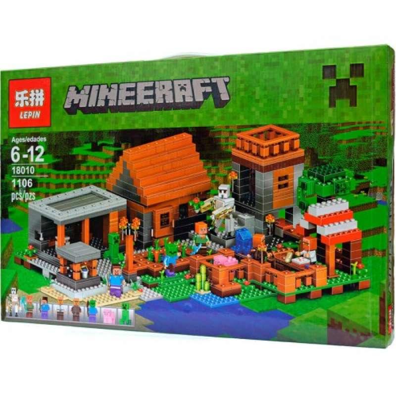 Minecraft Деревня