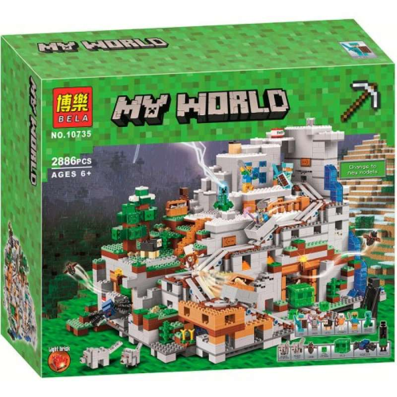 Minecraft Горная пещера