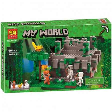 Храм в джунглях Майнкрафт конструктор