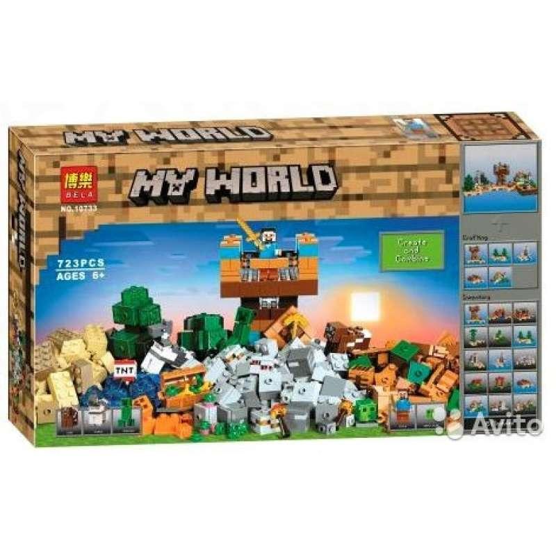 LEGO Minecraft крафт