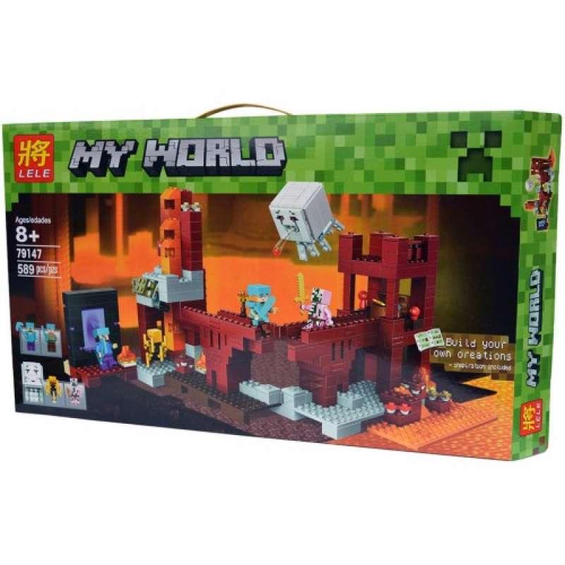 Minecraft подземная крепость