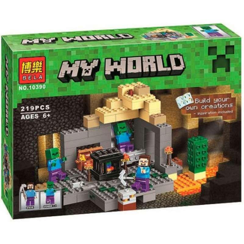 Minecraft Подземелье