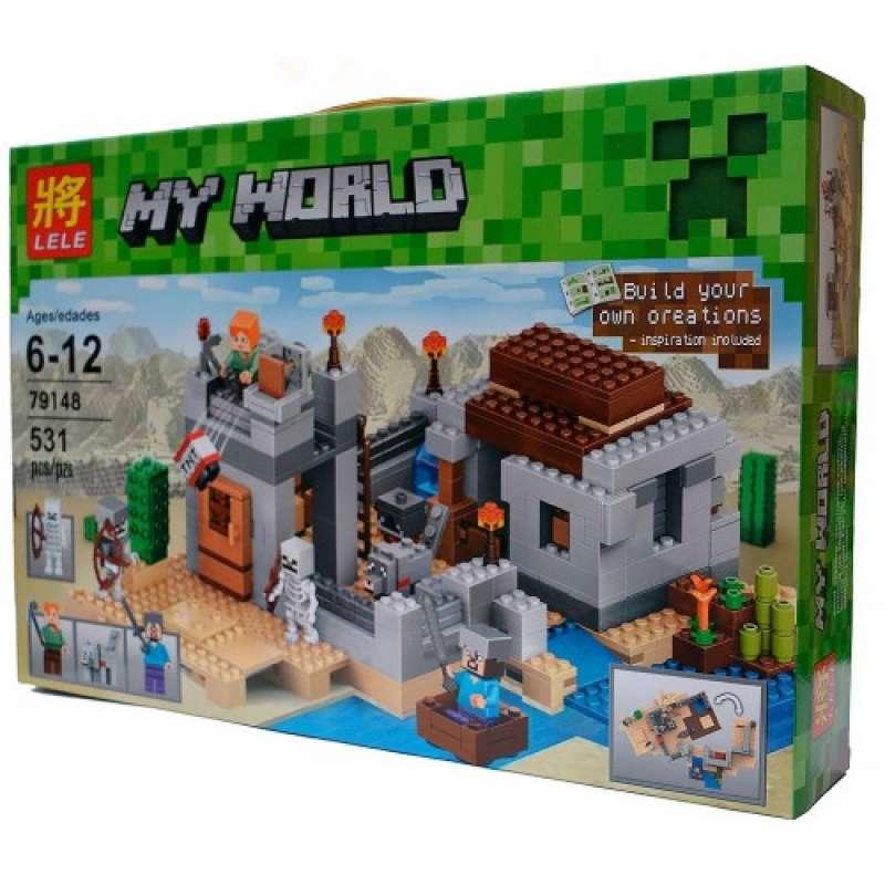 Minecraft пустынная станция