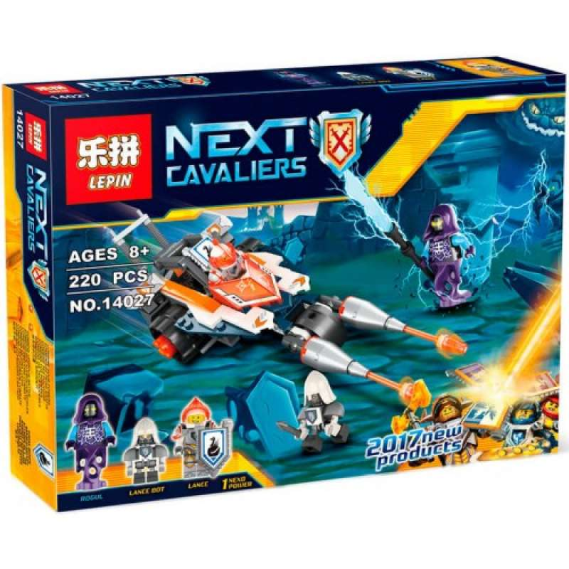 Nexo Knights Турнирная машина Ланса