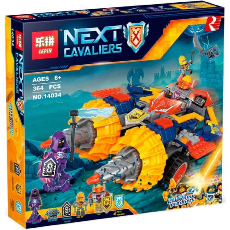Nexo Knights Бур-машина Акселя