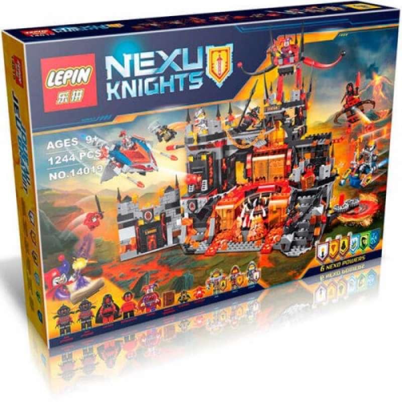 Nexo Knights Вулканическое логово Джестро