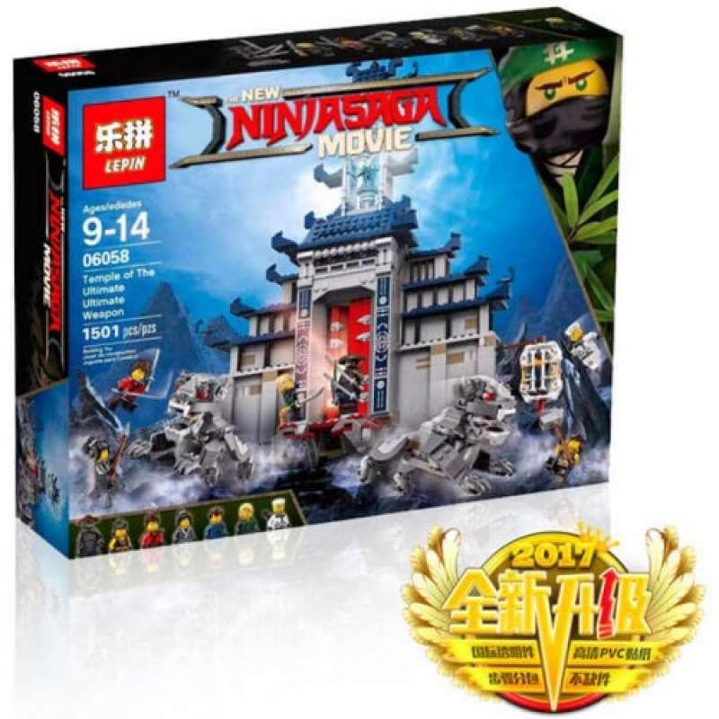 Ninja Go Храм последнего великого оружия