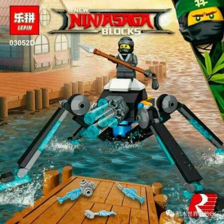 Набор 4 конструктора Ninja Movie 03052