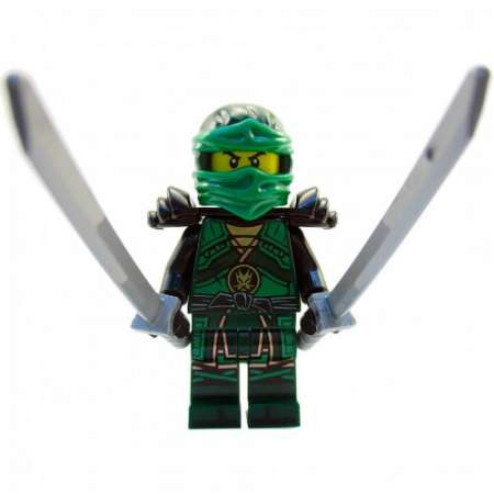 Конструктор Ninja GO Железные удары судьбы 734 детали