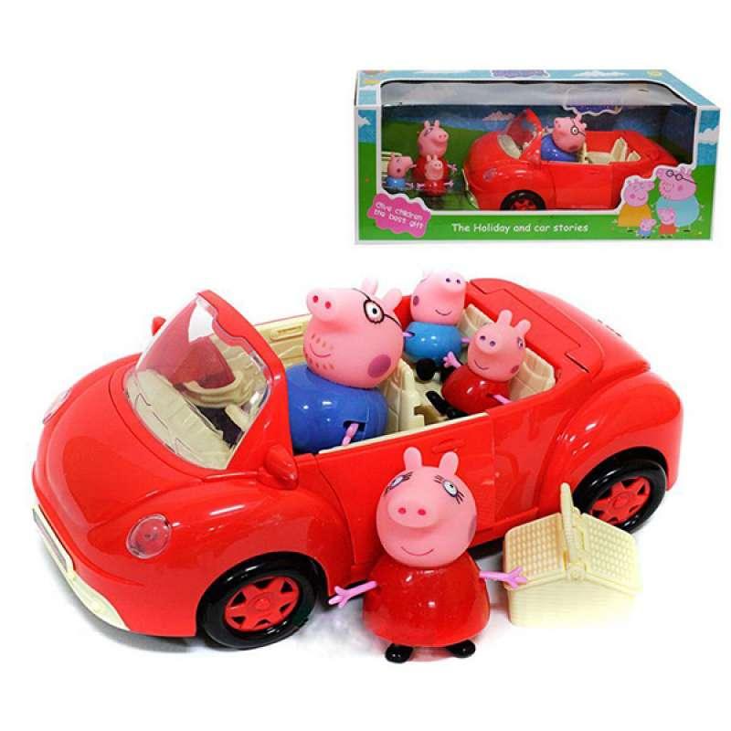Машинка для пикника Веселые Свинки