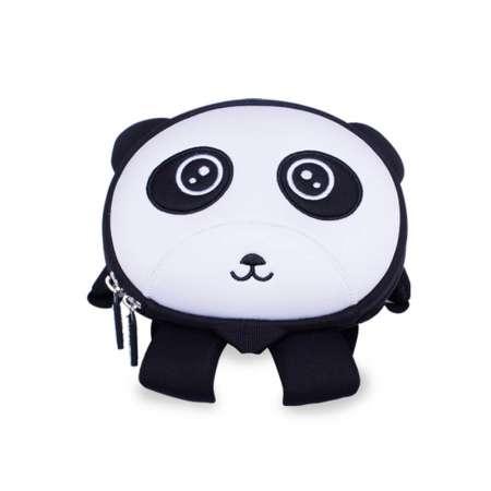 Рюкзак 3D Панда (с поводком)