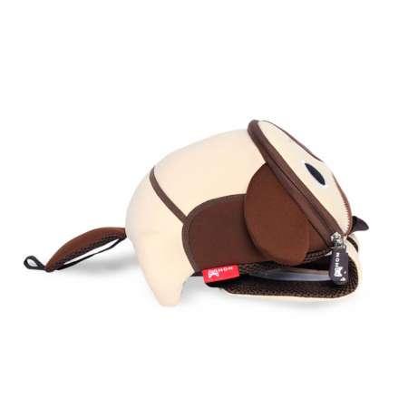 Рюкзак 3D Пёсик (с поводком)