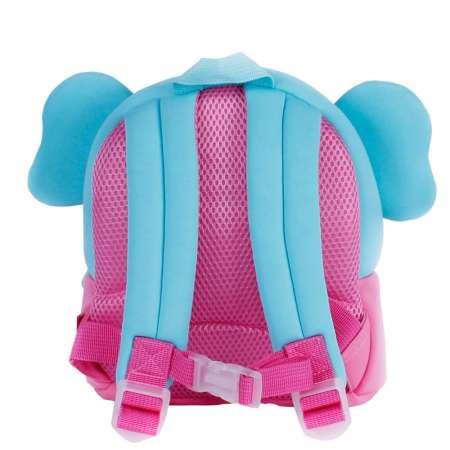 Рюкзак 3D Розовый слоник