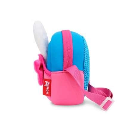 Сумочка 3D Розовый кролик