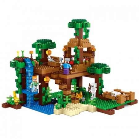 Домик на дереве в джунглях  Майнкрафт конструктор