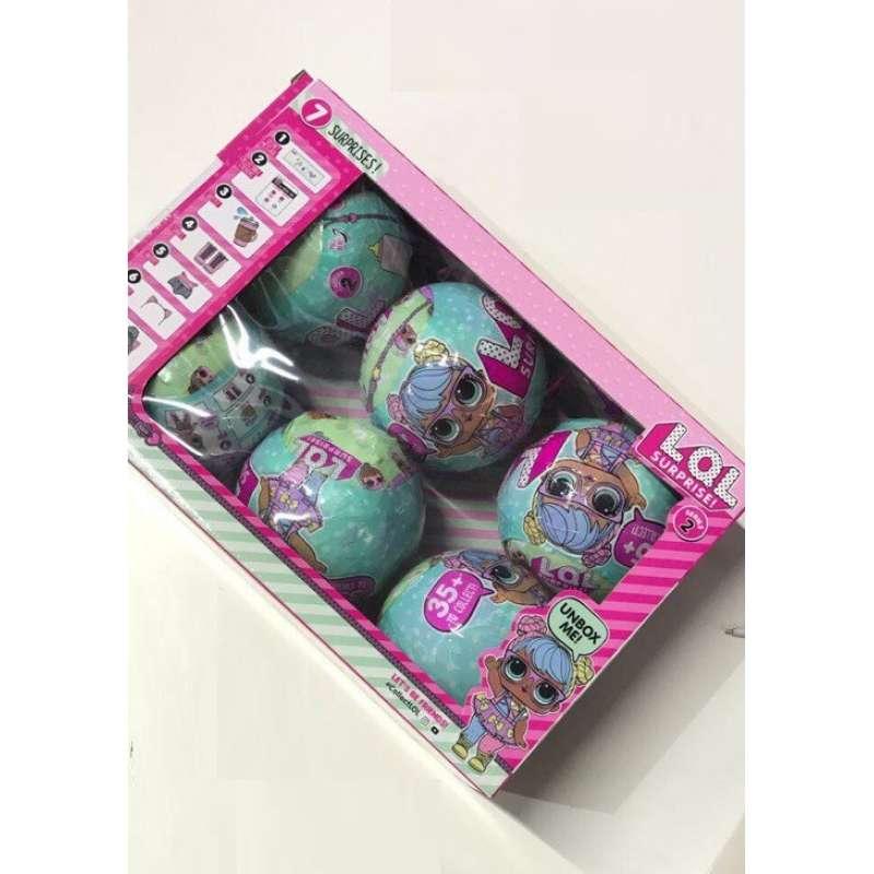 Набор LOL Surprise 2 серия 6 шаров