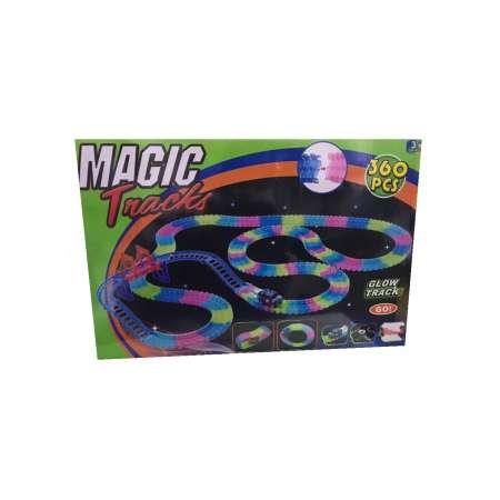 Magic Tracks 360 деталей Трасса с мостом