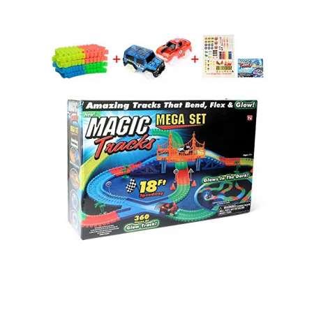 Magic Tracks Mega Set Гоночный трек 360 деталей