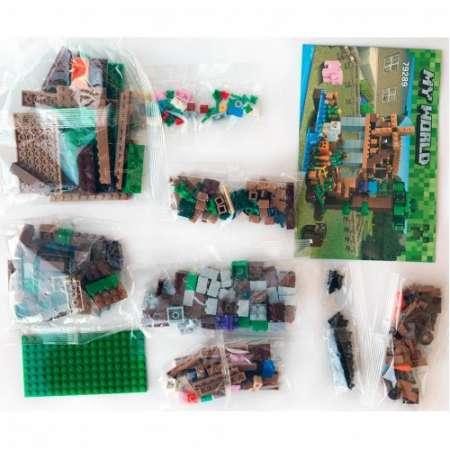Ранчо ветряная мельница  Майнкрафт (Аналоги LEGO)